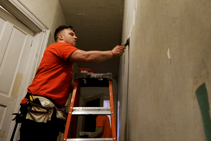 Rebuilding Together Philadelphia volunteer